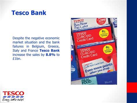 tesco tesco bank presentation tesco s investors financial highlights