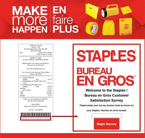 Staples Sweepstakes - stapleslistens ca staples customer satisfaction survey sweepstakes pit