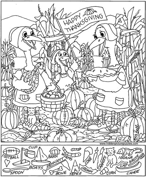 free coloring pages of find the object