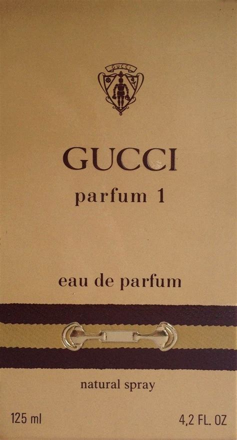 Parfum Im 8 gucci 1 eau de parfum duftbeschreibung und bewertung