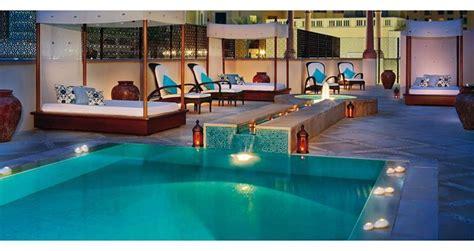 the lap pool at the jumeirah beach hotel oyster com the ritz carlton hotel dubai centurion magazine