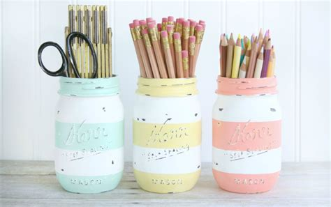 3 diy con chalk paint y una patata diy chalk paint jars yellow pillows deco