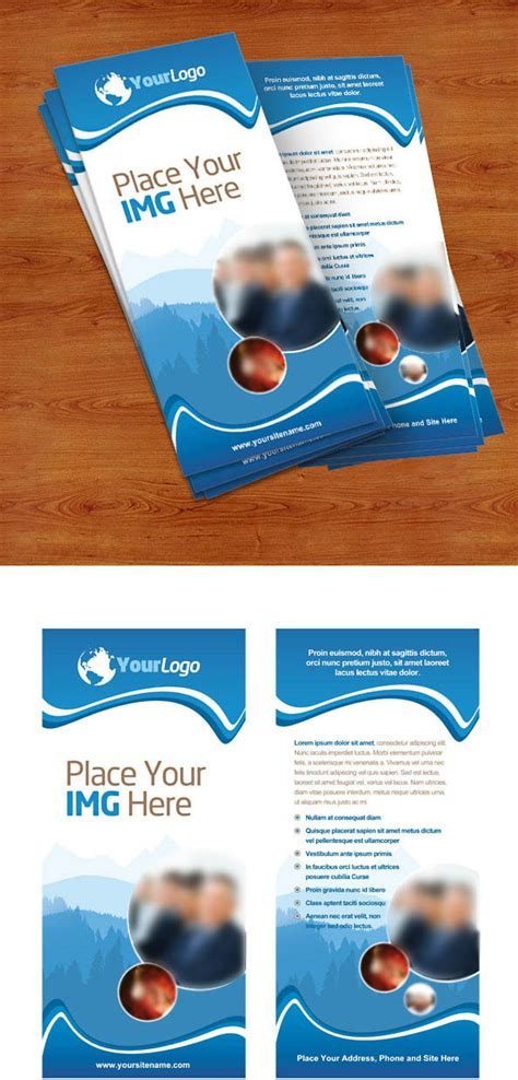 Rack Card Template Psd by Rack Card Psd Template Free Psd Files