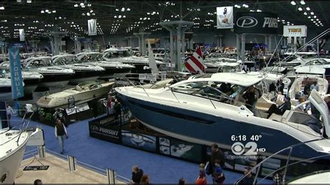 boat show javits center new york boat show returns to javits center 171 cbs new york