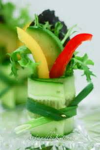cucumber salad bites art and the kitchen