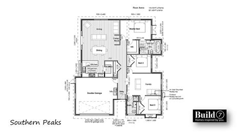 southern floor plans southern peaks floor plans b7 build7 new zealand