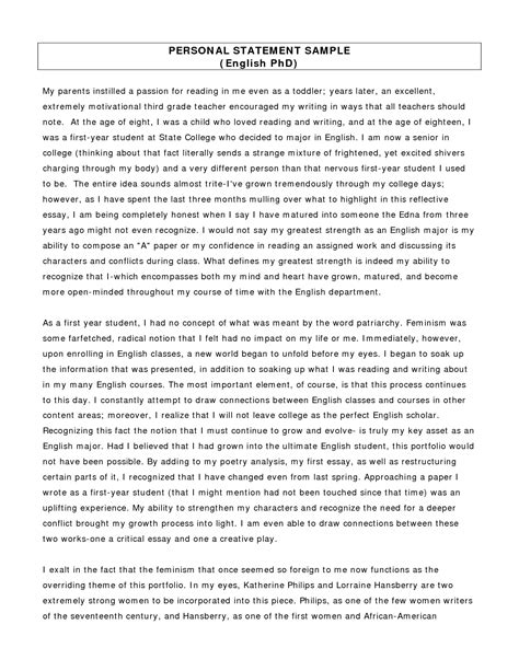 biology personal statement best template collection