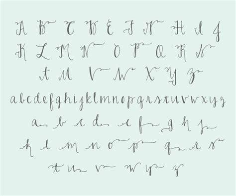 lettering tutorial alphabet joelle charming font 10 calligraphy tutorials
