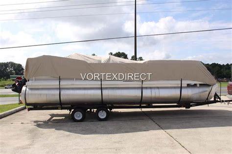 vortex boat covers vortex tan beige 14 16 ft ultra 3 purpose pontoon boat