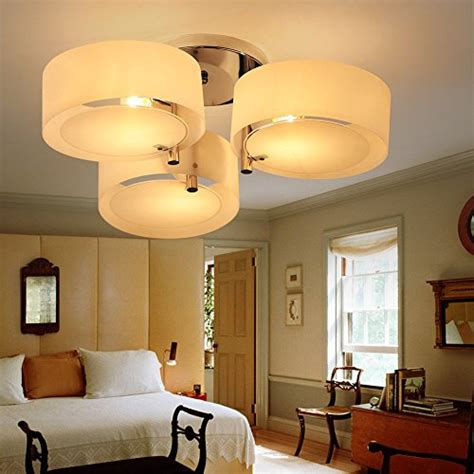kusun led ceiling lights for living room bedroom 3 x led