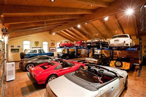 awesome car garages pin by mike hall on amazing garages pinterest