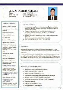 Technical Resume Formats Company Resume Template