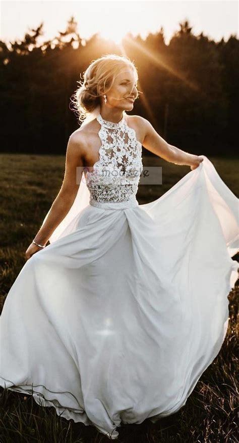 Simple Elegant Wedding Dresses Beach