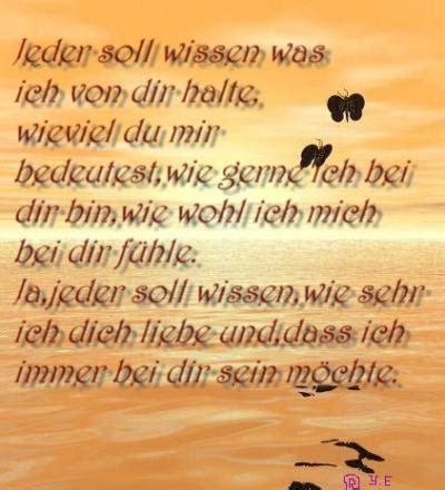 Wie Halte Ich Einen Mann 2245 by Steffižs Gedichte Spr 252 Che