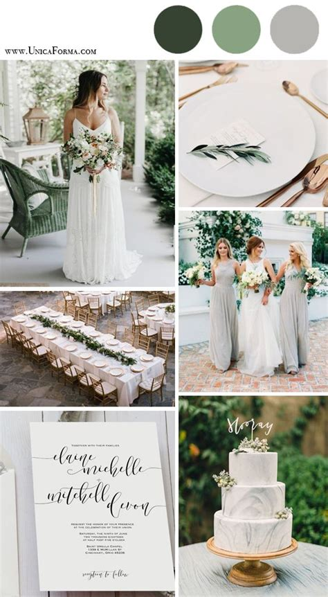 the greenery wedding package 25 best ideas about grey wedding invitations on