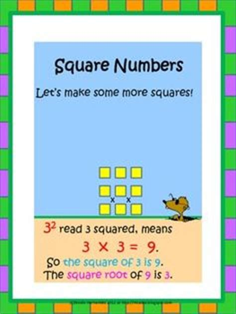 what is the square root of 1000 1000 images about math perfect squares on pinterest