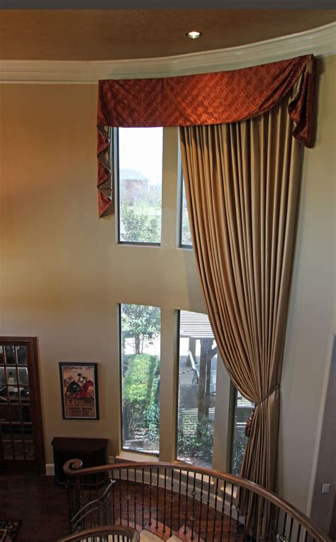 window treatments for double windows two story window treatments ideas roy home design