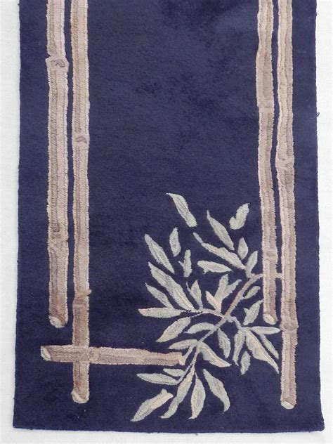 themed rugs sale large deco themed wool runner rug for sale at 1stdibs
