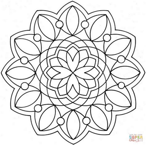 coloring pages flower mandala coloring pages printable flower mandala coloring page free printable coloring pages