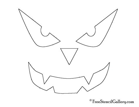scary o lantern template best photos of scary o lantern stencils o
