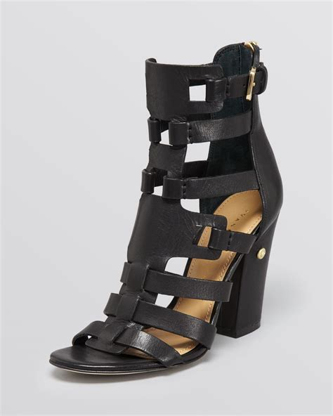 High Heels Sandal Selop Br lyst ivanka sandals gladiator high heel in black