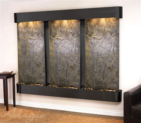 lightweight slate wall hanging waterfalls water