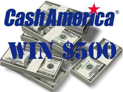 Advance America Sweepstakes - www cashamericalistens com win 500 cash in the cash america customer survey
