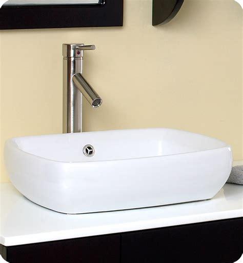 fresca bellezza espresso modern vessel sink