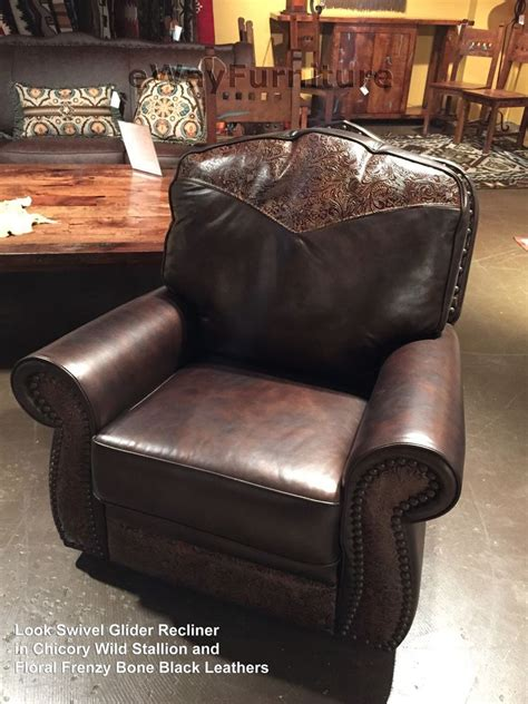 recliners made in america the look 100 hand cut top grain leather glider swivel