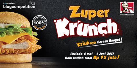 fb kfc indonesia inilah pemenang blog competition kfc zuper krunch oleh
