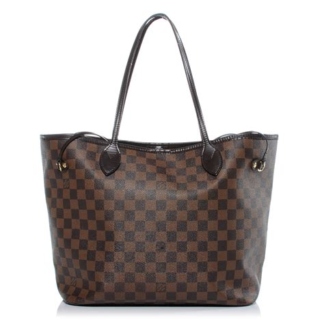 Neverfull Damiere louis vuitton damier ebene neverfull mm 41419