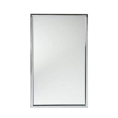 metal framed mirrors bathroom home decorators collection vogue 22 in w x 36 in h