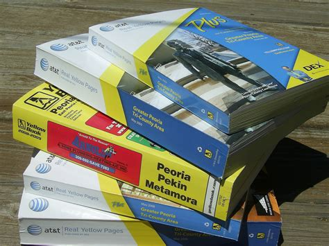 Recycling Phone Books In Central Illinois Global
