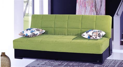 planet sofa planet sofa bed convertible in green microfiber by rain