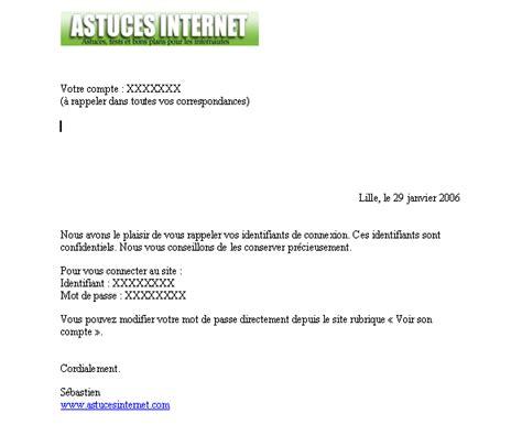 lettre officielle mod 195 168 le gratuit