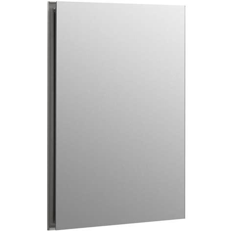 home depot medicine cabinets recessed kohler flat edge 16 in x 20 in recessed medicine cabinet