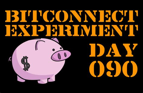 bitconnect year bitconnect 1 year experiment day 090 results 100