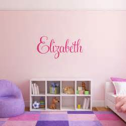 personalised name wall stickers wall stickers and decals notonthehighstreet