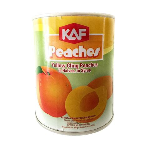 Wilmond Halves In Syrup Canned jual kaf in halves in syrup canned makanan kaleng 820 g harga kualitas