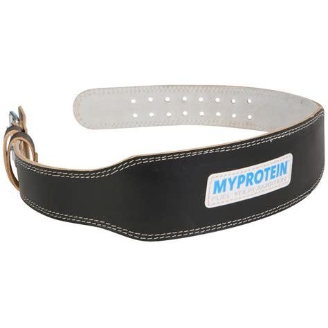 buy myprotein leather lifting belt myprotein