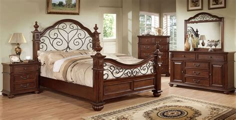 antique oak bedroom furniture landaluce antique dark oak poster bedroom set from