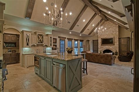country house plans with large kitchens texas hill luxury kitchen living room interior hill country home builder