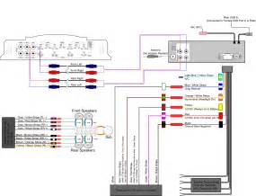 powered bose car speaker wire diagram bose free
