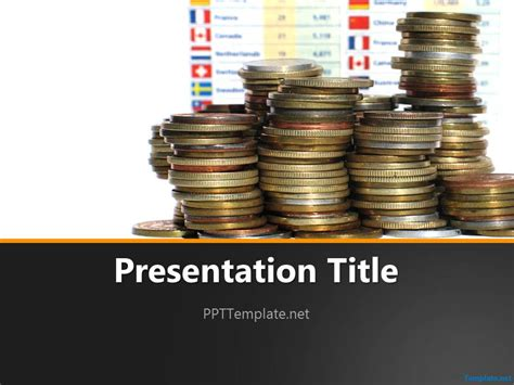 Free Coins PPT Templates   PPT Template