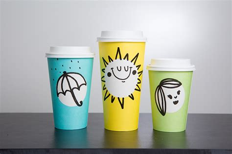 design cups starbucks meets pantone springtime cups with a