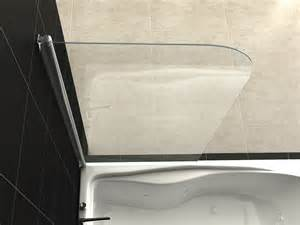 Glass Shower Screens Over Bath 6mm glass over bath shower screen door panel new design ebay