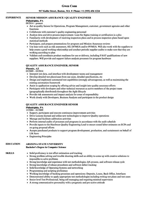qa engineer sample resume haadyaooverbayresort com