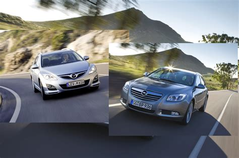 Mazda 6 Auto Versicherung by Reise Diesel Vergleich Mazda6 Kombi Gegen Opel Insignia