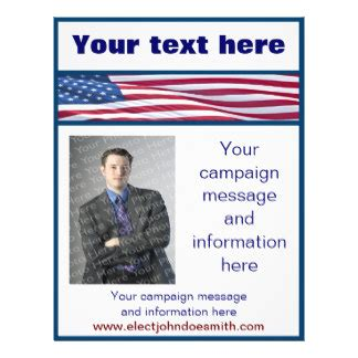 campaign promotional flyers campaign promotional flyer