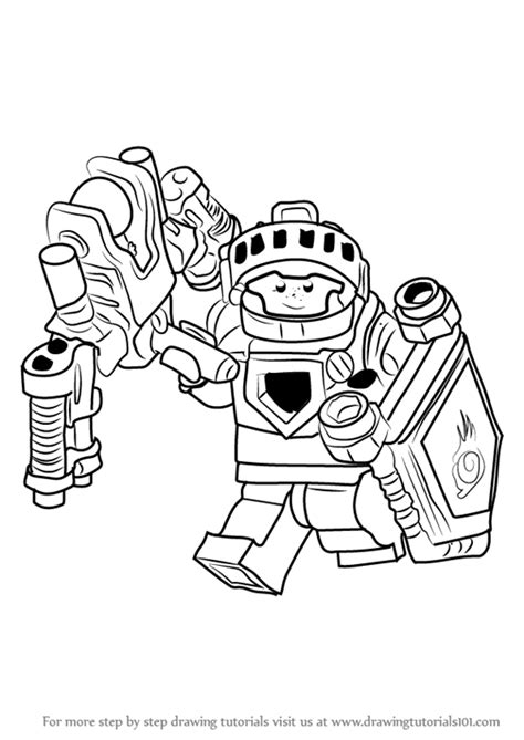 nexo knights coloring pages aaron nexo knights coloring pages fox nexo knights beastmaster